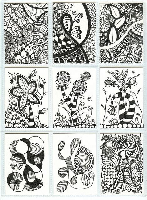 zentangle pattern groovy 36 best images about diy zentangle doodle on pinterest