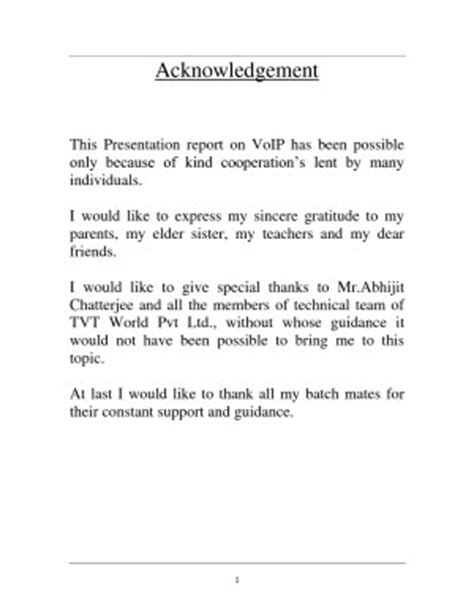Research Paper Acknowledgement Exle by Acknowledgement Quotes For Work Quotesgram