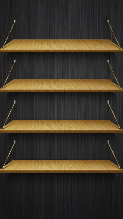 Iphone Shelf Wallpapers by Free Wood Shelf Hd Iphone 5 Wallpapers Free Hd