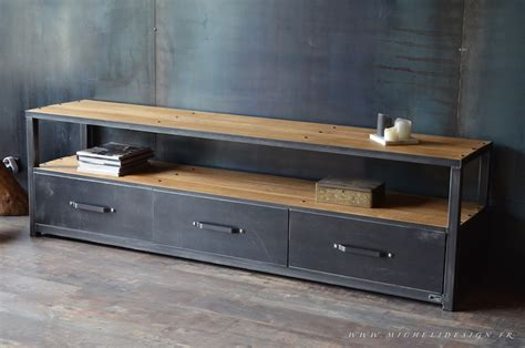 Meuble Type Industriel by Meuble De Style Industriel Table Basse Meuble Tv
