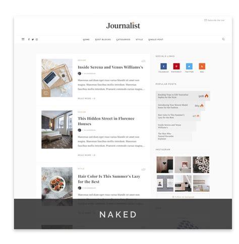 tumblr themes journalist journalist wordpress blog magazine theme by 2035themes