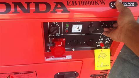 honda portable diesel generator honda diesel 5000w generator c
