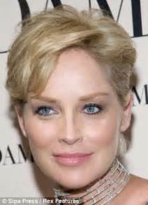 sharon stone face shape as beyonce crops her locks why it works for any face or