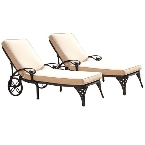 black chaise lounge chairs home styles biscayne black chaise lounge chairs 2 taupe