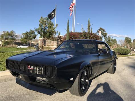 pro touring camaro suspension 1968 camaro rs pro touring 427 hotchkis suspension