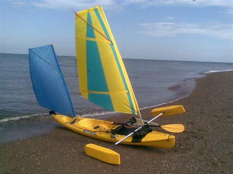 kayak boats sail kayak sailing and boat building projects kayak sailing