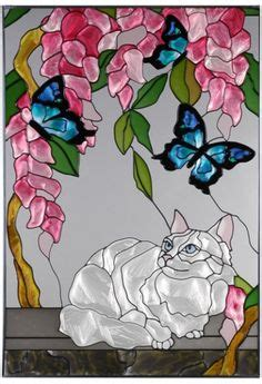 Mini Ransel Cat Anf Butterfly Lucu 1000 images about miniature stained glass on stained glass windows stained glass