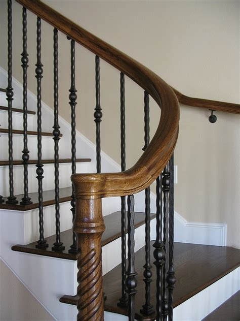 Curved Handrail For Stairs curved stair treads and radius handrail on behance
