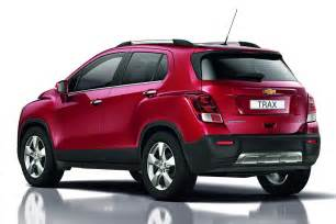 new car in india 2014 price new chevrolet trax small suv pictured and detailed ahead