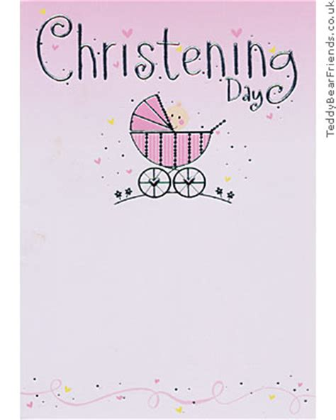 printable gift cards for baptism christening day pink