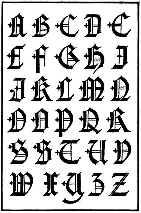 letras goticas letras capitales goticas siglo 16 a photo on flickriver