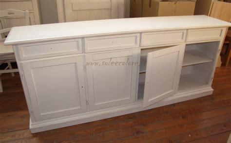 credenze arte povera bianche 410 credenza in legno bianca decape stile provenzale