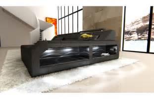 sofa l form sofas ledersofa sofa arezzo l form schwarz ledersofa