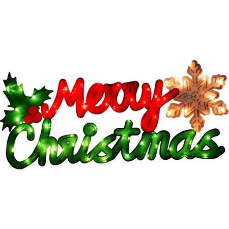 merry christmas light signs time lighted merry sign walmart