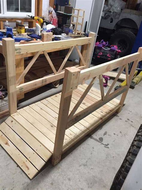 backyard wood projects diy wood garden bridge hometalk