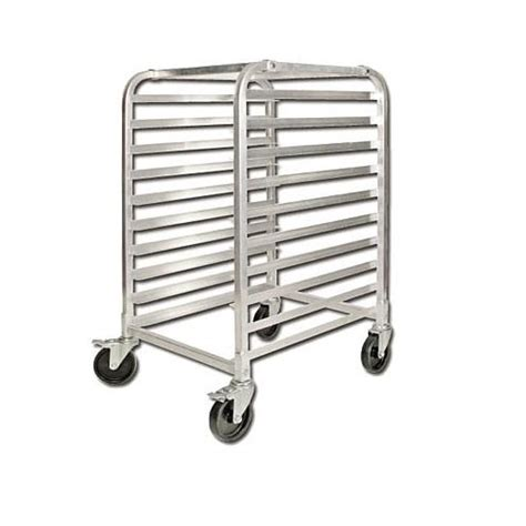winco bun pan rack half size fixed spacing 10 pan kd