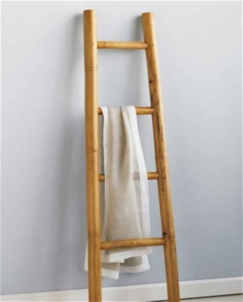 Fabric Basement Ceiling by Bamboo Ladder Tropical Bathroom Accessories By Vivaterra