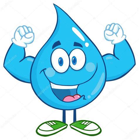 imagenes animadas sobre el agua personaje de dibujos animados de gota de agua archivo