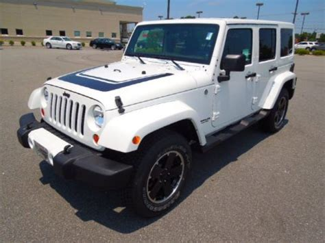Jeep Wrangler Altitude Edition For Sale New 2012 Jeep Wrangler Unlimited Freedom Edition 4x4 For