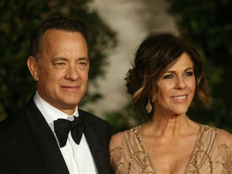 tom hanks rita wilson affair tom hanks and rita wilson score rare apology from national