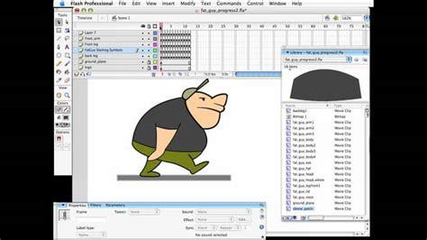 tutorial javascript flash flash animation tutorial two leg walk cycles on vimeo