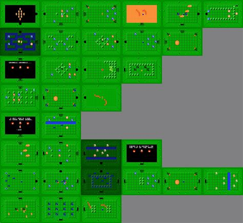 legend of zelda bomb map level 7 first quest zeldapedia fandom powered by wikia