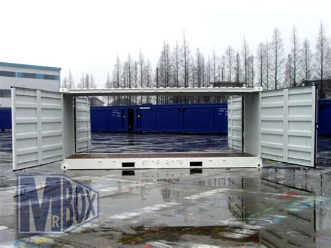 40 Open Side Shipping Container Price by Open Sided 20ft Container Mr Box