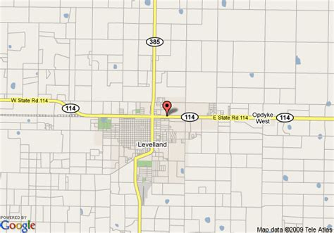 levelland texas map map of inn express hotel suites levelland levelland