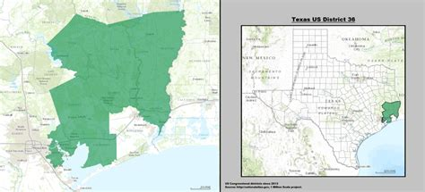 texas voting district map texas s 36th congressional district