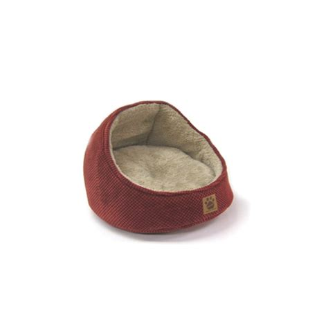 rust bed shop snoozzy dark rust polyester round dog bed at lowes com