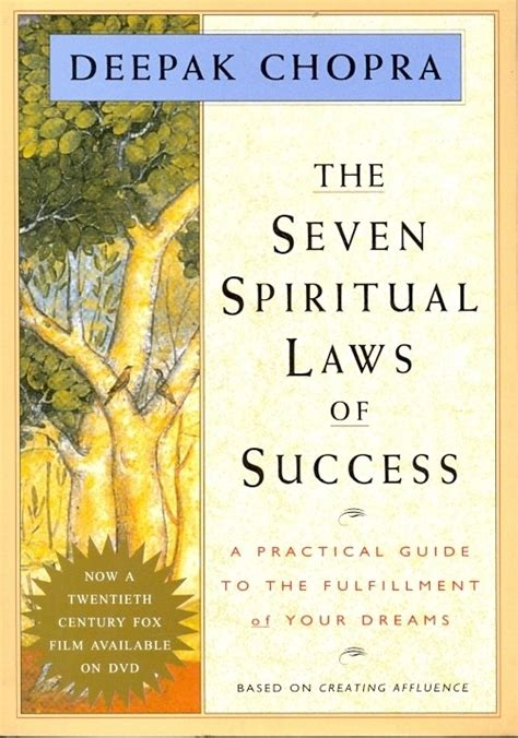 the seven spiritual laws 059304083x the seven spritual laws of success indian edn english