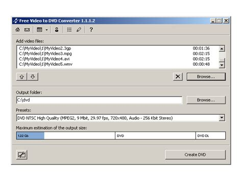 any video format dvd player free video to dvd converter