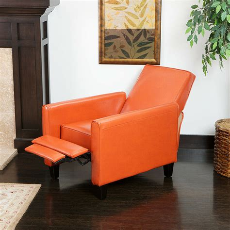 burnt orange chair living room furniture modern design burnt orange leather