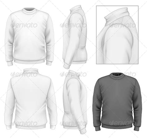 Men S Sweater Design Template Graphicriver Sweater Design Template