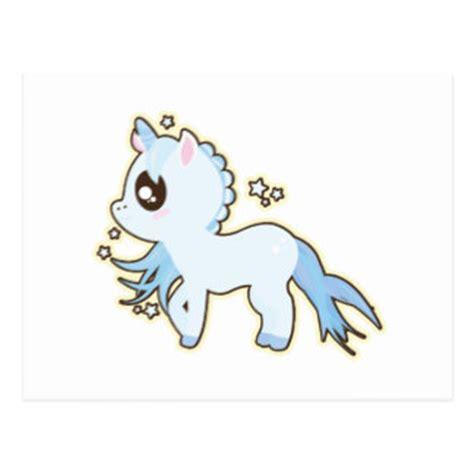 imagenes de viros kawaii kawaii unicorn postcards zazzle