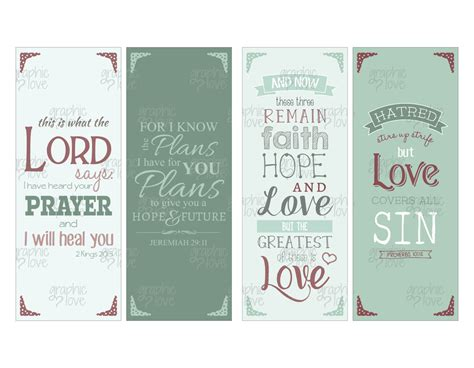 printable scripture bookmarks printable bible scripture bookmarks set of 4 christian