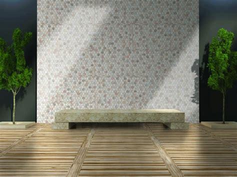 decorados y acabados ceramicos revestimiento de paredes exteriores 50 ideas jardin