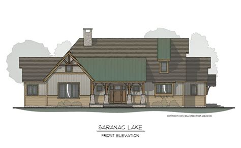frame homes by mill creek post beam company saranac lake timber frame plan by mill creek post beam