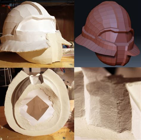How To Make A Paper Mache Football Helmet - pepakura viewer 3 0 4 rus 2 2014 biz1953953