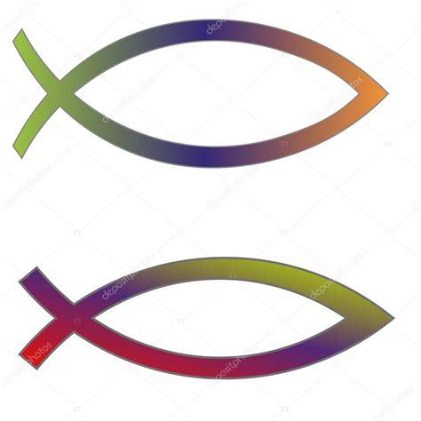 imagenes simbolos biblicos s 237 mbolos cristianos pescado vector de stock 63678341