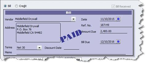 Void Check Report In Quickbooks by Tracking Bills In Quickbooks Worth The Effort