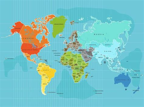 simple world map with country names simple world map with country names my