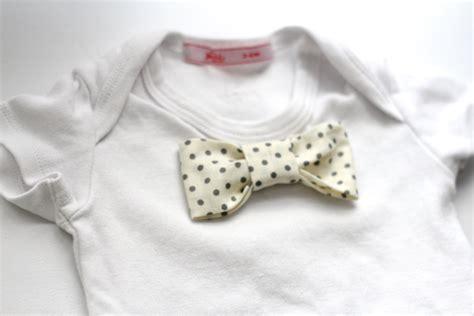 diy baby bow tie no 25 adorable easy to make baby accessories