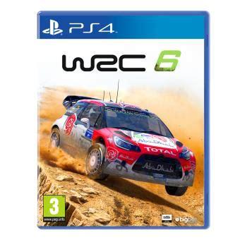 wrc 6 ps4 sur playstation 4 jeux vid 233 o achat prix fnac