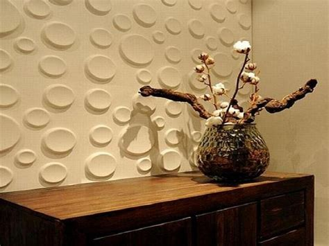 Texture Home Decor by Bloombety Cool Cream Textured Bubble Wallpaper Home