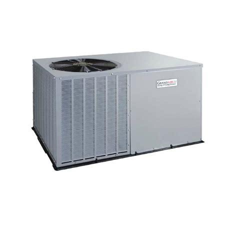 Water Sler Horizontal 2 ton 14 50 seer 24k btu grandaire heat package unit wjh424000ktp0a ingrams water air