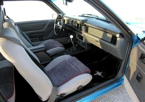 1985 Mustang Gt Interior by Medium Regatta Blue 1985 Ford Mustang Gt Hatchback