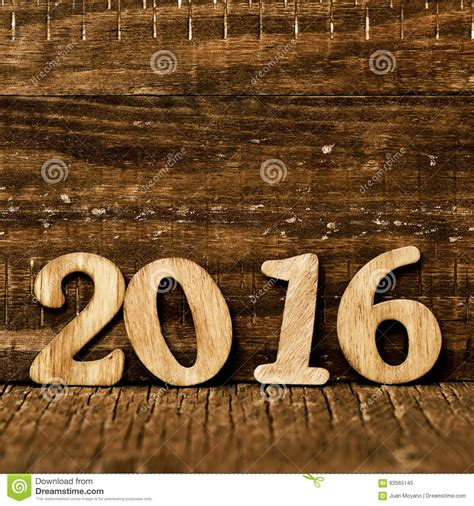 new year wood 2016 as the new year stock photo image 63565145