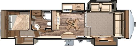 mesa ridge rv floor plans 2016 mesa ridge fifth wheels mf346flr by highland ridge rv