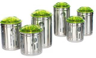 Kitchen Jars And Canisters Stainless Steel Kitchen Storage Container Contemporary